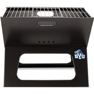 Picnic Time Brigham Young Univ. Charcoal X-Grill
