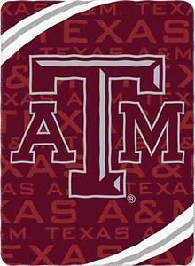 Northwest NCAA Texas A&M Fleece Force Throw