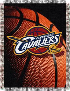 "Northwest NBA Cleveland Cavaliers 48""x60"" Throw"