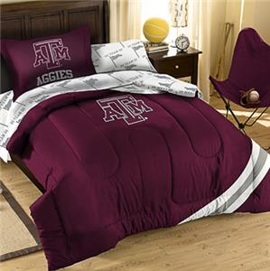 Northwest NCAA Texas A&M Twin Bed in Bag Set