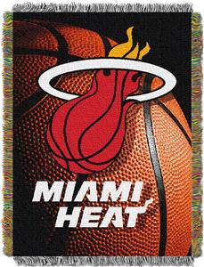 "Northwest NBA Miami Heat 48""x60"" Photo Real Throw"