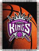"Northwest NBA Sacramento Kings 48""x60"" Throw"