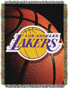 "Northwest NBA LA Lakers 48""x60"" Photo Real Throw"