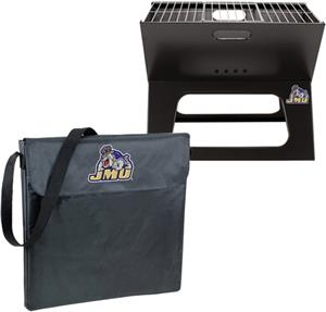 Picnic Time James Madison Charcoal X-Grill w/ Tote