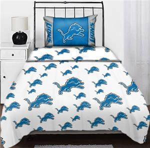 Northwest NFL Detroit Lions Twin Sheet Sets