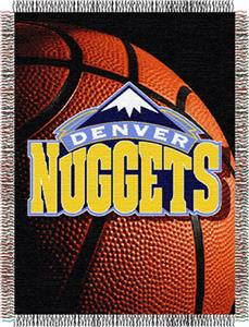 "Northwest NBA Denver Nuggets 48""x60"" Throw"