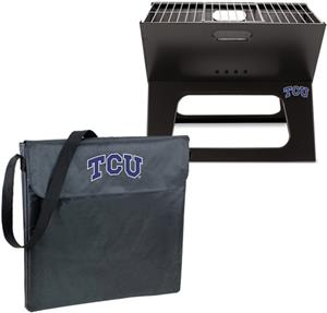 Picnic Time Texas Christian Univ. Charcoal X-Grill