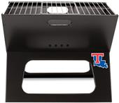 Picnic Time Louisiana Tech Charcoal X-Grill w/Tote