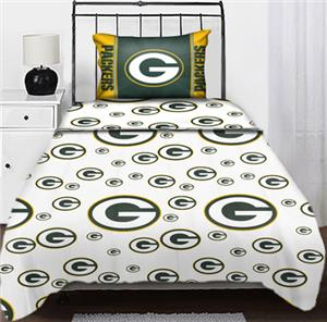 Northwest NFL Green Bay Packers Twin Sheet Sets