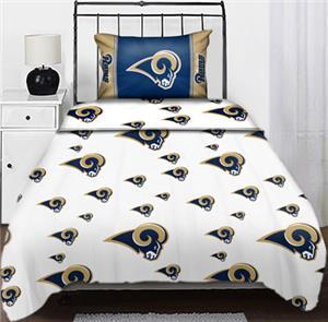 Northwest NFL St. Louis Rams Twin Sheet Sets