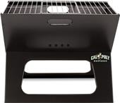 Picnic Time Cal Poly Charcoal X-Grill with Tote