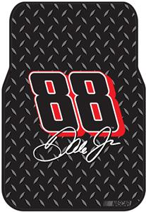 Northwest NASCAR Dale Jr. Car Front Floor Mats