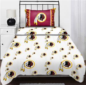 Northwest NFL Washington Redskins Twin Sheet Sets