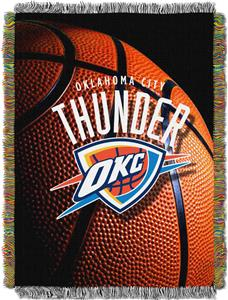 "Northwest NBA OKC Thunder 48""x60"" Photo Real Throw"