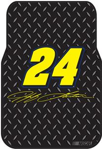 Northwest NASCAR Jeff Gordon Car Front Floor Mats