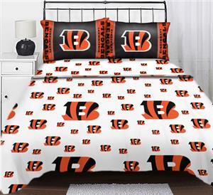 Northwest NFL Cincinnati Bengals Full Sheet Sets