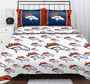 Northwest NFL Denver Broncos Full Sheet Sets