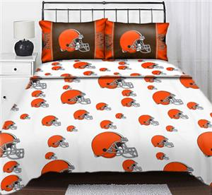 Northwest NFL Cleveland Browns Full Sheet Sets