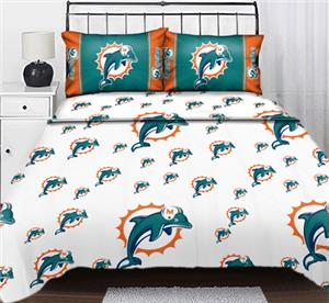 Northwest NFL Miami Dolphins Full Sheet Sets