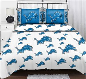 Northwest NFL Detroit Lions Full Sheet Sets