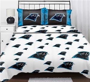 Northwest NFL Carolina Panthers Full Sheet Sets