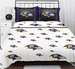 Northwest NFL Baltimore Ravens Full Sheet Sets