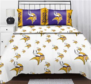 Northwest NFL Minnesota Vikings Full Sheet Sets