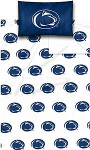 Northwest NCAA Penn State Univ. Twin Sheet Set
