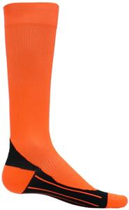 Red Lion Neon Orange Compression Socks