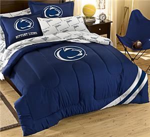 Northwest NCAA Penn State Univ Full Bed in Bag Set