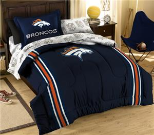 Northwest NFL Denver Broncos Twin Bed In A Bag