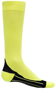 Red Lion Neon Yellow Compression Socks