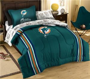 Northwest NFL Miami Dolphins Twin Bed In A Bag