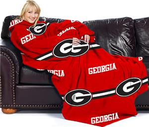 Northwest NCAA Georgia Comfy Throw (Stripes)