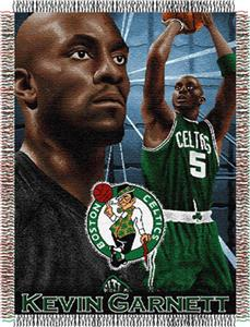 "Northwest NBA Celtics Kevin Garnett 48""x60"" Throw"