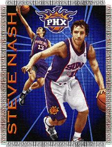Northwest NBA Phoenix Suns Steve Nash 48x60 Throw