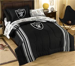 Northwest NFL Oakland Raiders Twin Bed In A Bag