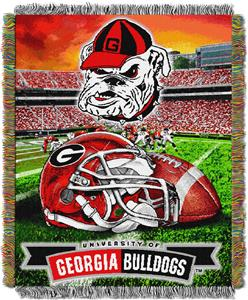 Northwest NCAA Georgia HFA Tapestry Throw