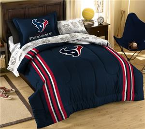 Northwest NFL Houston Texans Twin Bed In A Bag