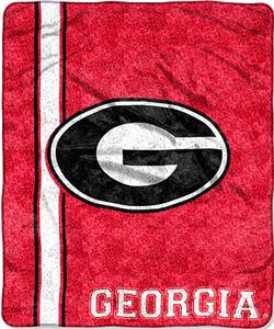 Northwest NCAA Georgia Jersey Sherpa Throw