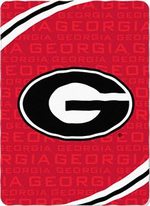 Northwest NCAA Georgia Fleece Force Throw