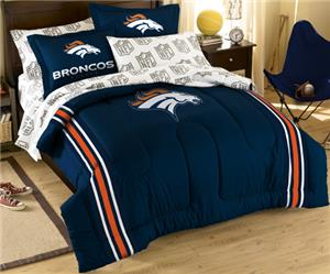 Northwest NFL Denver Broncos Full Bed In A Bag