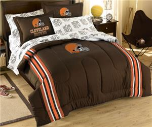 Northwest NFL Cleveland Browns Full Bed In A Bag