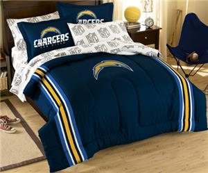 Northwest NFL San Diego Chargers Full Bed In A Bag