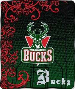 "Northwest NBA Milwaukee Bucks 50""x60"" Throw"