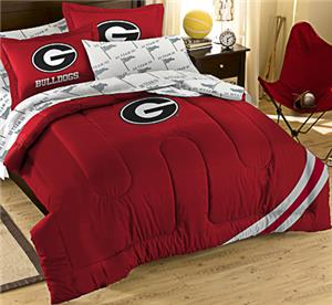 Northwest NCAA Georgia Full Bed in Bag Set