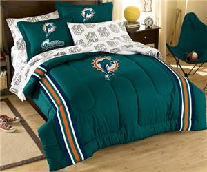 Northwest NFL Miami Dolphins Full Bed In A Bag