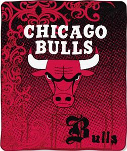 "Northwest NBA Chicago Bulls 50""x60"" Throw"