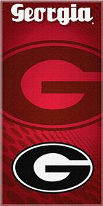 Northwest NCAA University of Georgia Beach Towel
