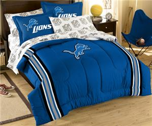 Northwest NFL Detroit Lions Full Bed In A Bag